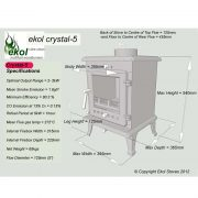 Ekol-Crystal-5-woodburning-mulit-fuel-stove-specifications