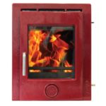 Ekol-inset-5-woodburning-mulit-fuel-stove-red