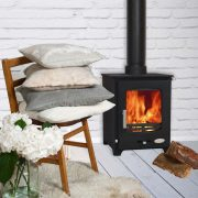 Woolly Mammoth 5 wood burning stove and multi-fuel by Stove Specialists UK