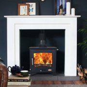 Woolly Mammoth 5WS widescreen multi-fuel stove