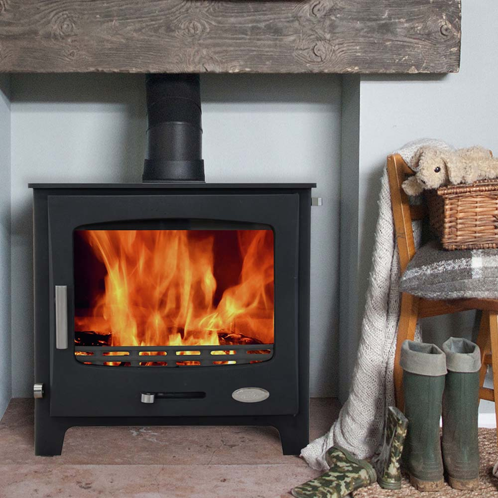 Woolly Mammoth 7 multi-fuel stove 6.9kw