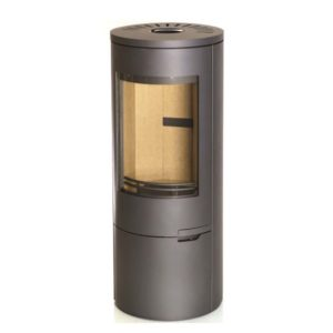 Woolly Mammoth 7XL 7kw wood burning stove contemporary style freestanding